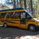 BusTrip Iveco buss paremalt küljelt
